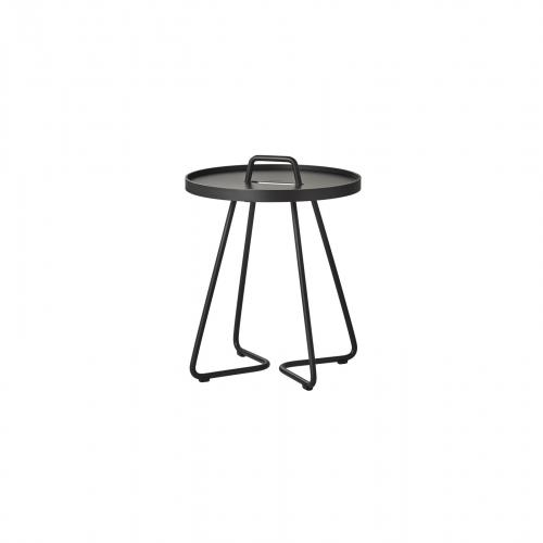 thumb_5062AS Cane Line On The Move Beistelltisch Side Table x-smal Aluminium Outdoor