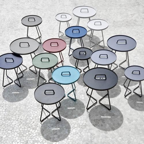 thumb_5066AT_AS_AW_AI_5065AB_AC_AD_AS_AT_AA_AW_AI_5062AW_AI_AS Cane Line On The Move Beistelltisch Side Table x-smal Aluminium Outdoor