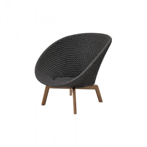 Peacock Rope Loungesessel